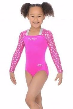 ASTRAL LONG SLEEVE GYMNASTICS LEOTARD