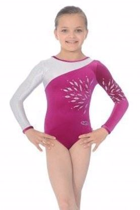 Picture of Eclipse long sleeved gymnastics leotard