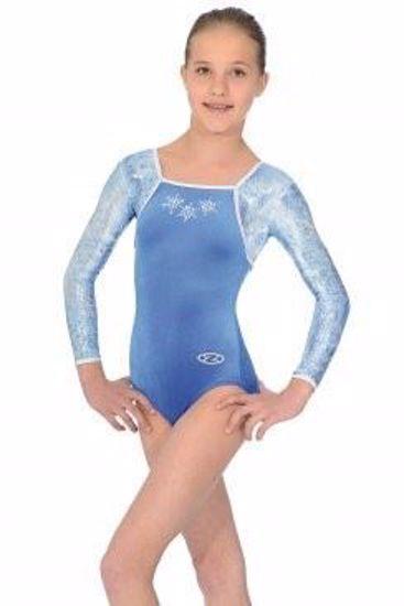 Picture of Angel Long Sleeved Gymnastics Leotard