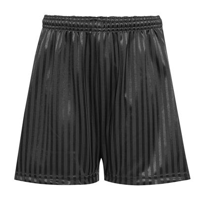 Picture of Black Shadow Stripped P.E Short
