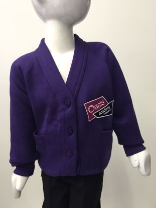 Picture of Oasis Academy Parkwood Cardigan
