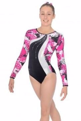 Picture of Carnival Long Sleeve Gymnastics Leotard