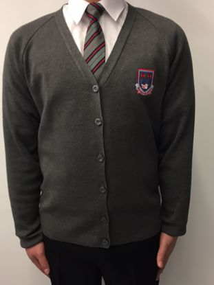 Picture of Frederick Gough Grey Cardigan